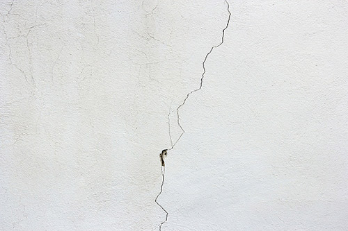 foundation crack photo