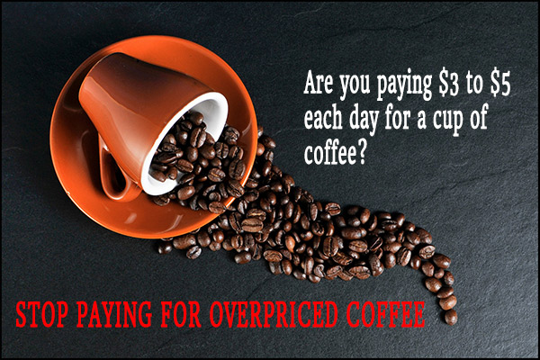Stop paying for overpriced coffee